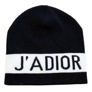 Dior J' adior cashmere beanie hat