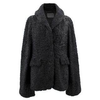 CO Black Persian Lamb Cape/Jacket
