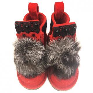 Valenki snow boots