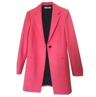 Balenciaga Pink Wool Coat