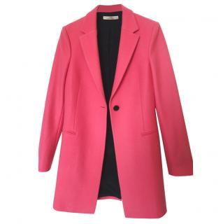 Balenciaga Pink Wool Coat