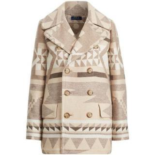 Polo Ralph Lauren Geometric Wool Peacoat