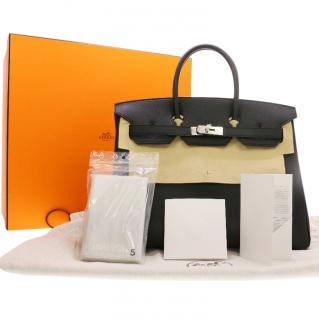 Hermes Black 35cm Birkin Bag
