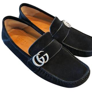 Gucci Double G Black Loafers