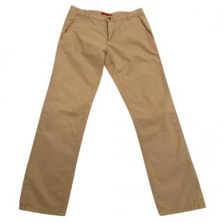 HUGO boss beige chinos