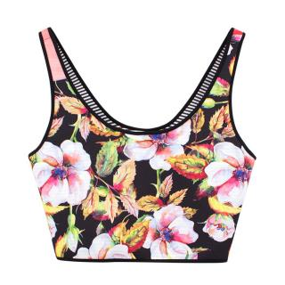 Clover Canyon printed cropped vest top
