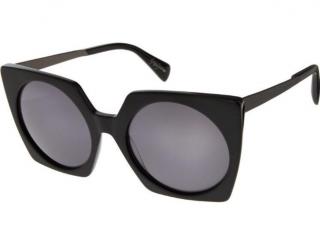 Yohji Yamamoto Iconic YY5011 Black Sunglasses Boxed - New