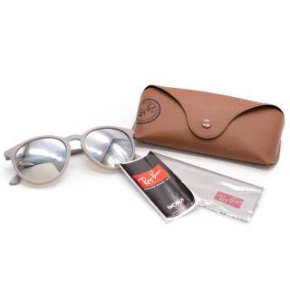 Ray-Ban grey erika metal sunglasses