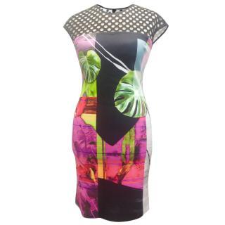 Clover Canyon Palm Print Dress
