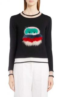 Fendi bug fur sweater