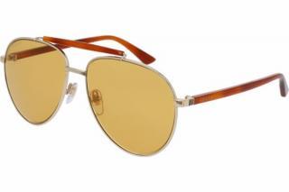 Gucci Gold & Tortoise Shell Sunglasses