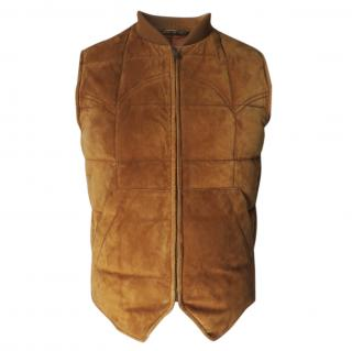 TOM FORD  For Gucci Suede Gilet