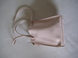 Furla pink leather handbag