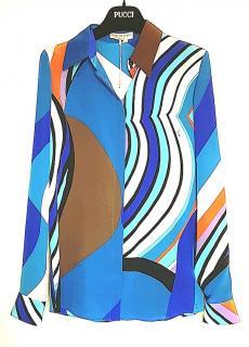 Emilio Pucci Silk Printed Shirt