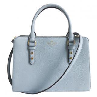 Kate Spade Mulberry Street Leighann Cornflower Blue Dawn Dusk Bag RRP