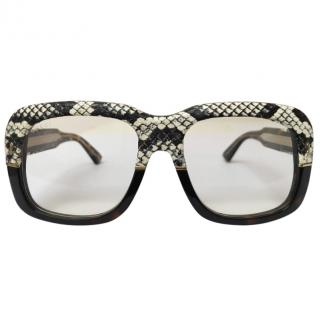 Gucci Ayers Snake Glasses