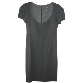 Zac Posen fitted grey dress