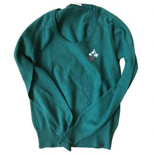 Balenciaga Wool Green Sweater
