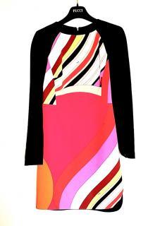 Emilio Pucci Onyx Print Mini Dress