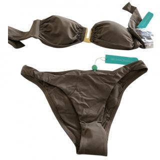 Melissa Odabash truffle strapless bikini