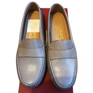 Salvatore Ferragamo memory design loafer shoes