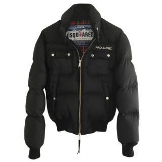 DSquared Black Puffer Jacket
