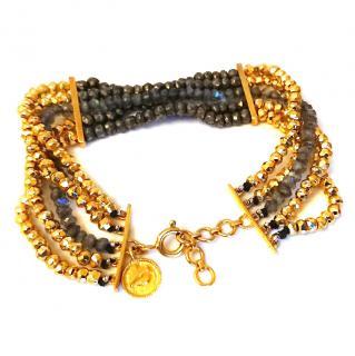 Jade Jagger 5 strand bead bracelet RRP �345.08