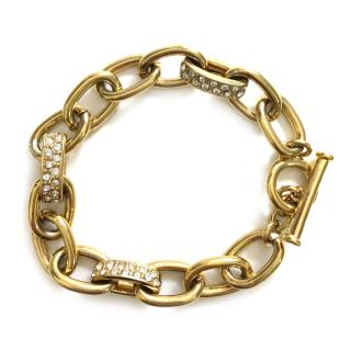 Ralph Lauren Gold Metal Chain Bracelet