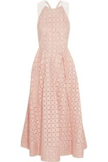 Roland Mouret Pink Midi Dress