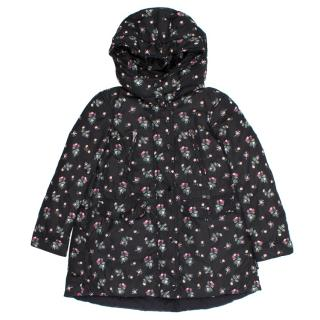 Moncler Kids Floral Print Jacket