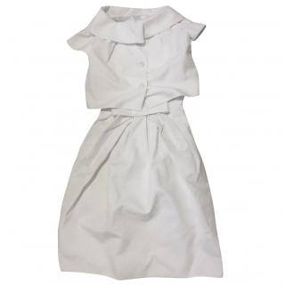 Christian Dior silk dress and jacket