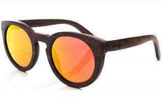 Woody's Barcelona Orange Lensed Sunglasses