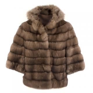 Bespoke Sable Fur Jacket