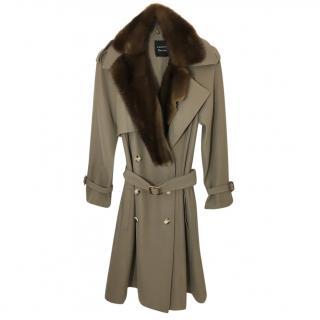 Lanvin Wool Mink Coat