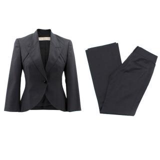 Stella McCartney Black Wool Suit