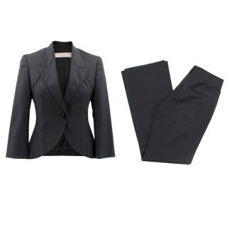 Stella McCartney Black Wool Suit