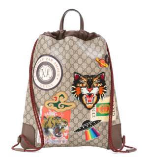 Gucci Drawstring GG Backpack