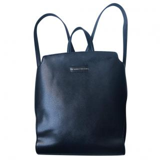 Trussardi black backpack