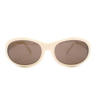 Celine Cream  Sunglasses