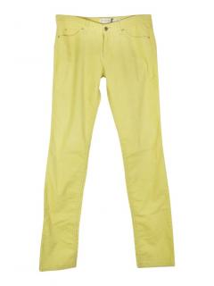 Isabel Marant Etoile Iti low-rise stretch corduroy slim leg trousers
