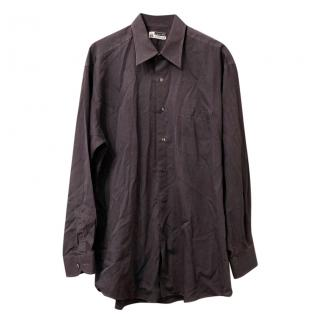 Lanvin Classique Grey Shirt