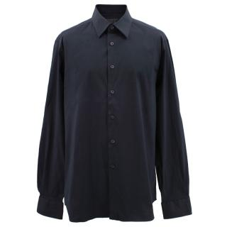 Prada classic navy cotton shirt