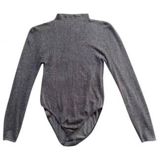 Wolford dark grey bodysuit