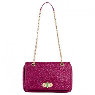 Shanghai Tang Quilted Flap Bag