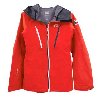 Millet red goretex jacket