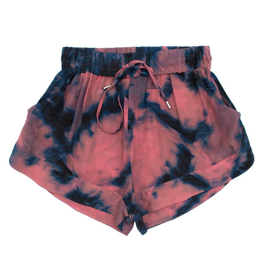 Iro Pink Tie Dye Shorts