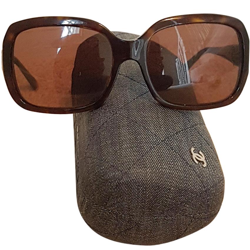 aa6eefae4aca Chanel Black Sunglasses