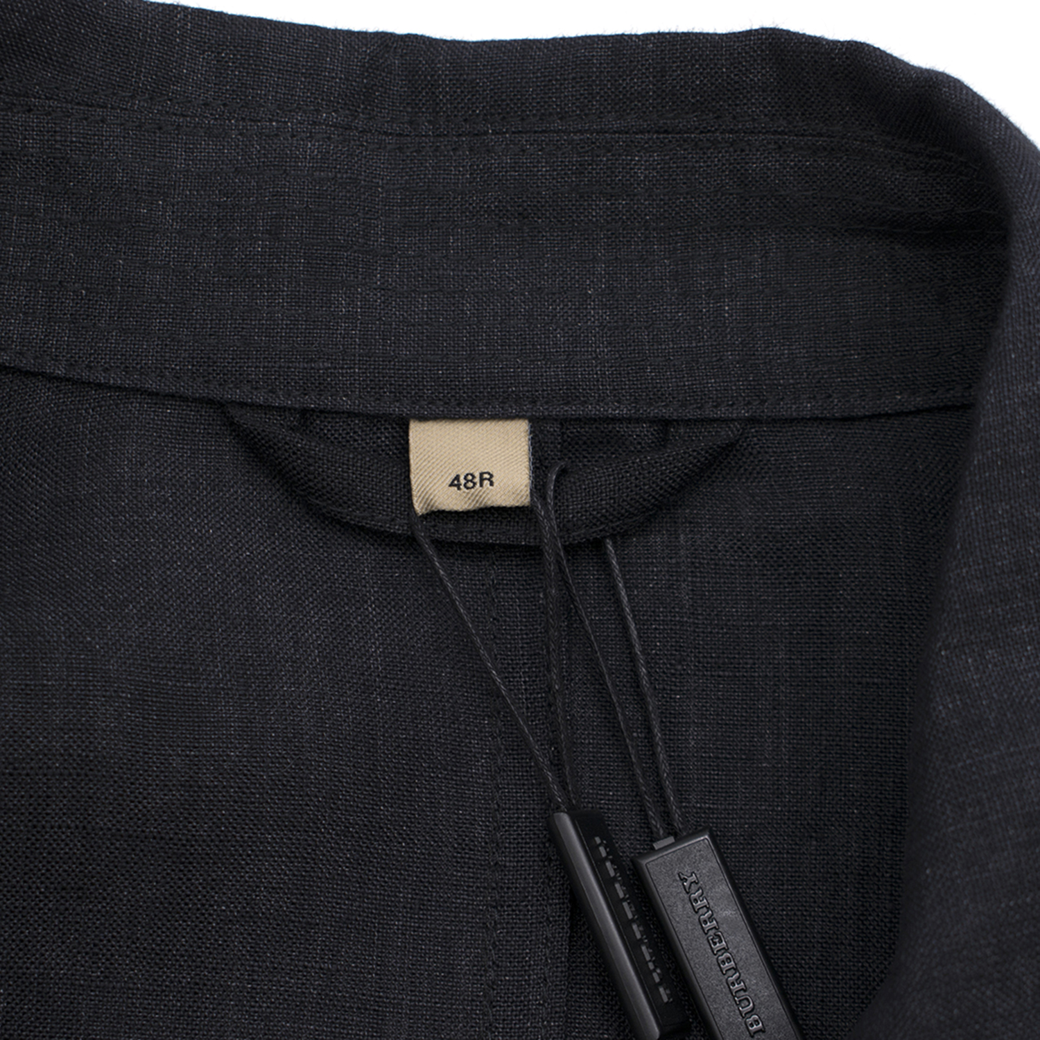 d40c752c7c44 Burberry Linen Double-breasted Artist Jacket Charcoal. 29. 12345678910