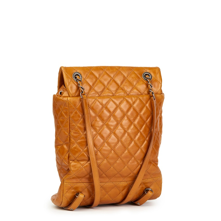 1c780a8d2d25 Chanel Caramel Calfskin Leather Small Mountain Backpack. 26. 12345678910