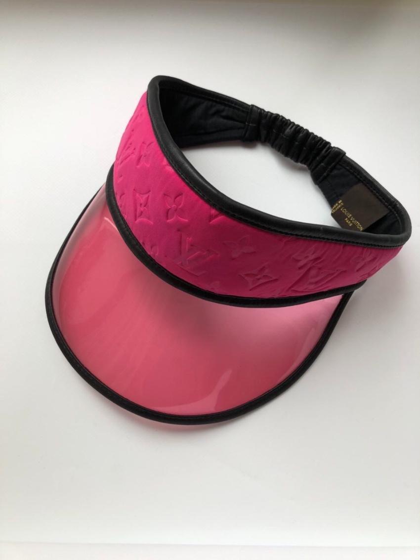 e065b81f Louis Vuitton pink golf /sun visor hat. 26. 123456789